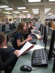Winona Sr. High Media Center Lakeview Lab