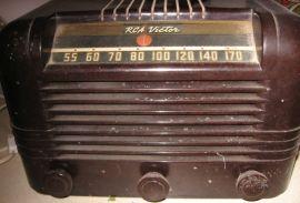 1940 RCA radio